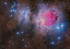 Orion Panorama Crop M42 (Terry Hancock www.downunderobservatory.com) Tags: astronomy astroimaging astrophotography qhy367c cosmos sky universe orion