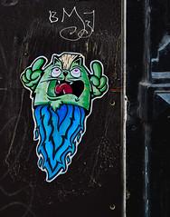 HH-Wheatpaste 3237 (cmdpirx) Tags: hamburg germany reclaim your city urban street art streetart artist kuenstler graffiti aerosol spray can paint piece painting drawing colour color farbe spraydose dose marker stift kreide chalk stencil schablone wall wand nikon d7100 paper pappe paste up pastup pastie wheatepaste wheatpaste pasted glue kleister kleber cement cutout