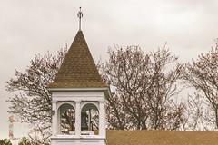 April 20th (Jennifer J Copp) Tags: splittone church steeple churchsteeple spring bell weathervane