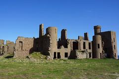 Last View of Slains Castle (steve_whitmarsh) Tags: crudenbay aberdeenshire scotland building ruins abandoned wall