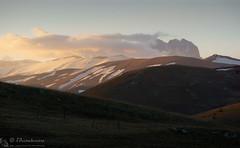 Folata di calore (EmozionInUnClick - l'Avventuriero's photos) Tags: cornogrande gransasso montagna panorama tramonto