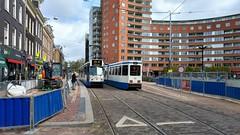 FB: de terugkeer 3 (Peter ( phonepics only) Eijkman) Tags: amsterdam city bn trapkar gvb tram transport trams tramtracks rail rails strassenbahn streetcars trolley nederland netherlands nederlandse noordholland holland
