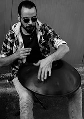 HANDPAN music (o.solemio) Tags: minoosolemio handcam street suonatore ambulante photo n° 399 steel drum