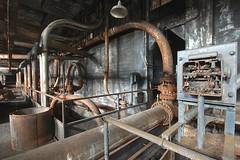 Crazy Straws (jgurbisz) Tags: jgurbisz vacantnewjerseycom abandoned pa pennsylvania philadelphia delawaregeneratingstation powerplant industrial decay rusty city pipes