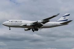 El Al / B744 / 4X-ELE / EGLL 27L (_Wouter Cooremans) Tags: egll lhr london spotting spotter avgeek aviation airplanespotting el al b744 4xele 27l elal