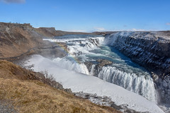 Waterpower, Iceland (powerfocusfotografie) Tags: waterfall gulfoss iceland nature outdoors spectacular landscape travelling henk nikond7200 powerfocusfotografie
