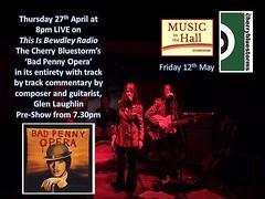 #bewdley #comingsoon 🎸check out #badpennyopera #indieartist #britishrock #britpop #rockopera #musicians
