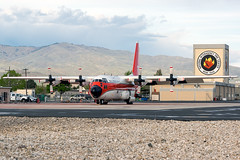 United States Forest Service Lockheed C-130H (cjmoeser) Tags: lockheed c130h hercules c130 martin 1708 tanker 116 firebomber boise idaho boi kboi gowen field pentax k3 aviation photography