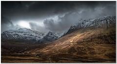 Sgurr an Fheadain (Hugh Stanton) Tags: storm mountain croft river road appicoftheweek