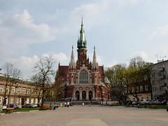 Kościół św. Józefa (Church of St. Joesph), Podgórze, Kraków (Alex-397) Tags: poland krakow europe