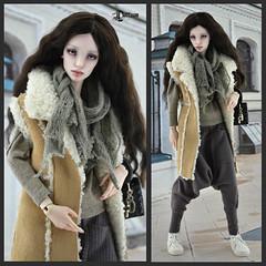 Милашка-5 (Dollfason) Tags: шарнирная кукла коллекционная авторская радуэт raduet dolloutfit collection doll fashionfordoll clothes for dolls streetstyle shoes