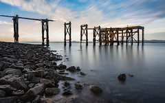 Aberdour Pier (jasty78) Tags: aberdourpier aberdour pier sunrise fife scotland nikon d5200 tokina1116mm longexposure