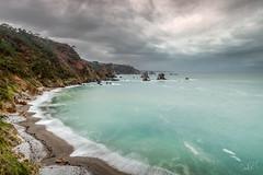 Playa del Silencio (Xmos) Tags: playa beach oceano silencio playadelsilencio beachofsilence blue longexposure largaexposicion asturias españa xmos ocean sea landscape paisaje marina