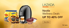 Nestle Wellness Deals at Lazada Malaysia (kiara_johnson) Tags: lazada voucher codes discount paylesser malaysia coupon offers deals nestle