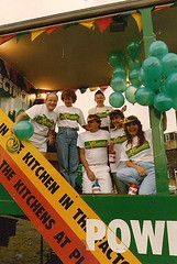 YEB charity float copy (Anita K Firth) Tags: 1987 morley gala float yeb charity yorkshire balloons electricity