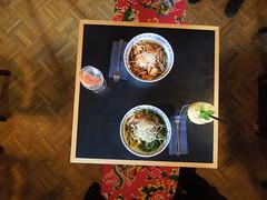 Lunch @1990 Berlin (conticium) Tags: berlin friedrichshain lunch mittag 1990 vietnamese restaurant vegan