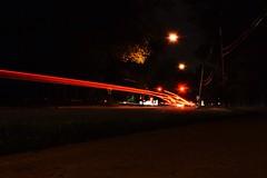 Trail of Light Trails (Bhargav Kesavan) Tags: longexposure lightlines road street night bhargavkesavan nikon photography nightphotography lighttrails light