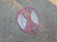 Friendly Neighborhood Spiderman (EMONEYTHEGREAT) Tags: art chalk spiderman comicbooks marvel marvelcomics flickrandroidapp:filter=none