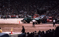 IMG_0059 (Nighthauler Photography) Tags: tractor cars truck pull meadowlands arena crushing bigfoot sled weight