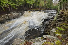 Quartzite Falls Michigan's Upper Peninsula (Michigan Nut) Tags: usa river waterfall spring midwest stream michigan rapids waterfalls upperpeninsula johnmccormick slateriver quartzitefalls michigannutphotography