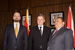 LSP Macedonian President (208) (Bruce MacRae) Tags: centre ottawa president arts macedonia reception national fraser lois macrae highlanders 78th siegel ivanov gjorge