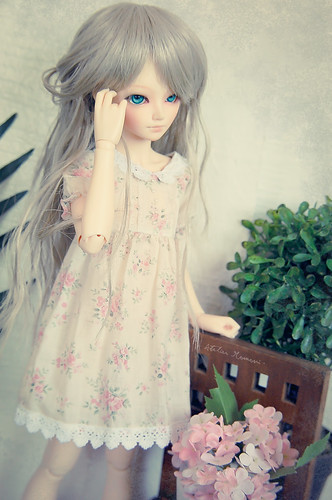 Dress on a Model - MiniFee Shushu