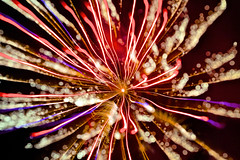Fireworks 2013 - Particles (giantmike) Tags: light sky colors night fireworks boom fourthofjuly canonef24105mmf4lis