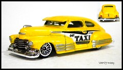 Taxi! (DJ Witty) Tags: auto hot chevrolet car toy automobile taxi wheels chevy fleetline diecast