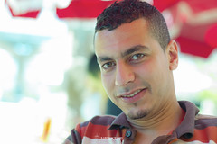 78/91 (Karim Achalhi) Tags: life portrait colors beautiful smile look canon mouth student eyes focus friend bokeh morocco 7d noise rabat irfan