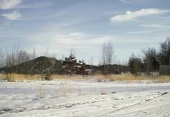 coal mountain (Love to draw2012) Tags: snow nature landscape seasons bluesky winterlight softlight winterlandscape coalmines manmadelandscape sigmadp2merrill
