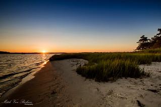 Sunset - Little Assawoman Bay, Delaware
