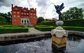 The Gardens behind Kew Palace