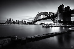Sydney silence (Luke Tscharke) Tags: longexposure light nsw nd hitech sydneyharbour kirribilli 3minutes irnd
