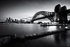 Sydney silence (Luke Tscharke) Tags: longexposure light nsw nd hitech sydneyharbour kirribilli 3minutes irnd