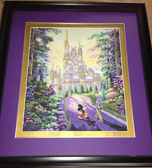 Disney's Past, Present and Forever (Canadian Redhead) Tags: crossstitch crafts disney crossstitching