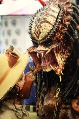 BREATHING DOWN YOUR NECK. (RICHARD OSTROM) Tags: california costume sandiego convention gore fans dslr predator comiccon sdcc 2013