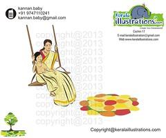 4 (kannanalpy) Tags: festival illustration king kerala vector onam puli maveli pookalam uriyadi mahabali creativeillustration onathappan pulikali onamfestival pattom keralaillustration kuuti