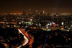 City of Angels (skippys1229) Tags: california longexposure canon rebel lights la losangeles cityscape traffic hollywood lighttrails sprawl urbanlandscape mulhollanddrive cityofangels hollywoodcalifornia losangelescalifornia tinseltown 2013 canonef24105mmf4lisusm hollywoodbowloverlook rebelt1i t1i canonrebelt1i nighttimeinlosangeles