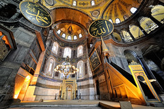 Luminous Hagia Sophia (Laurent photography) Tags: life city travel light wallpaper urban color art church colors architecture turkey french geotagged photography nikon asia europe flickr cityscape interior basilica istanbul mosque historic explore turquie hd 365 nikkor fx hagiasophia geographic nationalgeographic saintesophie supershot edgeoftown anawesomeshot dailyfrenchpod d700 infinestyle theartistseyes noblearchitecture weloveistanbul laurentphotography