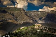 Borgo d'Alba Fucens (Scrufftie) Tags: travel italy canon italia day cloudy abruzzo lightroom canonef24105mmf4lisusm albafucens canon5dmkii massadalbecorona