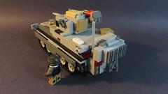 Grecian 'Hercules' IFV Rear (Tomcat Bobcat) Tags: urban game infantry modern war lego military battle vehicle fighting lmg flak warfare ifv brickarms