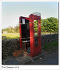 Broken phone box (Paul Simpson Photography) Tags: uk england broken phonebooth destruction peakdistrict icon communication british smashed staffordshire bt phonebox communicate redphonebox photosof imageof imagesof may2011 paulsimpsonphotography samsunggalaxys manifoldvalleyvisitorcentre
