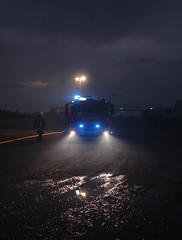 Feuerwehr (CA_Rotwang) Tags: germany deutschland abend nacht firefighter bochum feuerwehr fahrzeug wattenscheid einsatz blaulicht einsatzfahrzeug