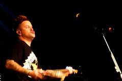 Jaret Reddick - Bowling For Soup (diedintragedy) Tags: electric manchester concert punk texas tour guitar live gig punkrock acoustic pick denton plectrum manchesteracademy poppunk farewelltour bowlingforsoup patentpending jaretreddick chrisburney