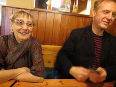 Valerie and Ben in London [Explored] (Barbro_Uppsala) Tags: greatbritain london ben explore valerie explore342