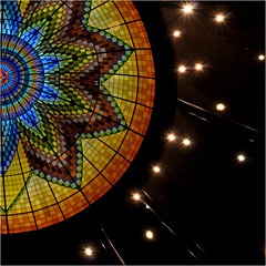 shooting stars (leuntje) Tags: netherlands architecture denhaag canopy thesting sgravenhage fashionstore clothingshop johnoutramarchitects dekoektrommel alkmaarseglazenier