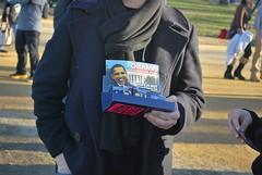 "While I was walking along, I suddenly heard a voice shouting ""Oooooooobama condoms!"" Sure enough, there they are. (gjbarb) Tags: washingtondc dc condoms obama inauguration"