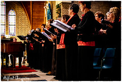 The LineUp (Alfred Grupstra Photography) Tags: music church concert nikon notes piano nederland nl noordholland chior wervershoof