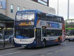 Stagecoach Merseyside & Sth Lancashire, 15911 [PE13LSX] - Preston (21/11/13) (David's NWTransport) Tags: stagecoach scania adl enviro400 scanian230ud adlenviro400 stagecoachmerseysidesouthlancashire pe13lsx