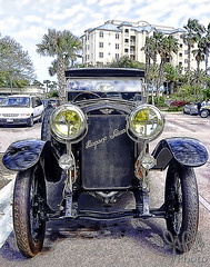 1918 Hispano-Suiza Type 32 Collapsible Brougham by Baltasar Fioly-CIA, Barcelona at Amelia Island 2012 (gswetsky) Tags: vintage french island european suiza antique cia amelia hispano concours 32 baltasar delegance fioly